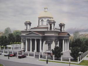 Проект Казанского храма
